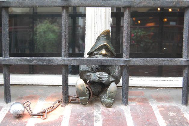 Al 'prisionero' lamentablemente no le fue nada bien. Foto © Silvia Lucero