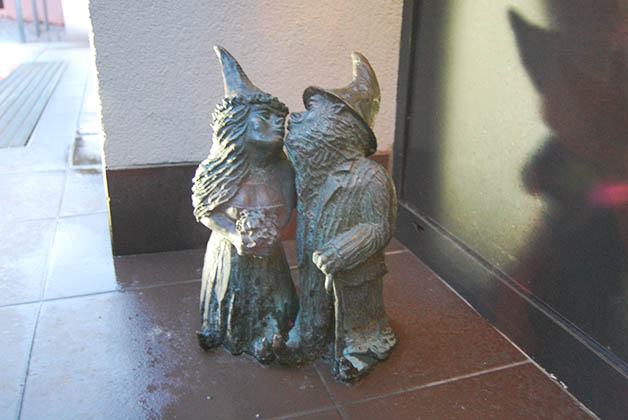 Mr. & Mrs. Dwarf: recién casados. Foto © Silvia Lucero