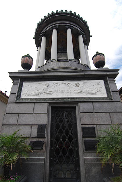 Bóveda de Federico R. Leloir. Foto © Patrick Mreyen