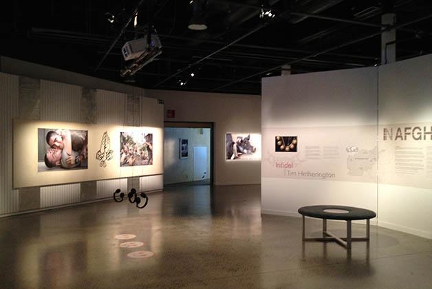 Exposición temporal. Foto © Silvia Lucero