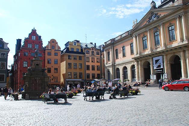 El Museo Nobel en la hermosa plaza Gamla Stan. Foto © Patrick Mreyen