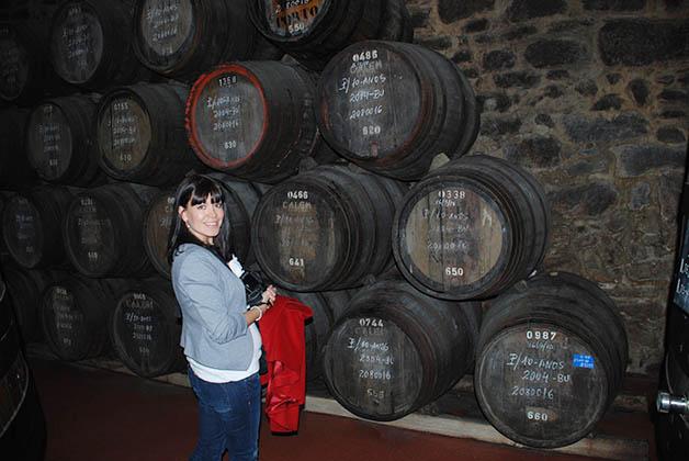 Visitando la bodega de Cálem en Oporto. Foto © Patrick Mreyen