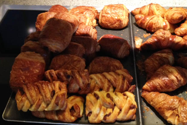 La selección de panes era deliciosa. Foto © Patrick Mreyen