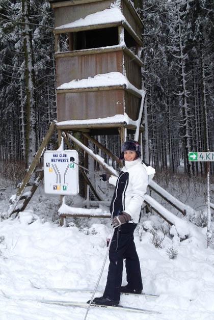 El club de esquí de Weywertz tiene cuatro pistas de 2, 4, 6 y 8 kilómetros. Foto © Patrick Mreyen