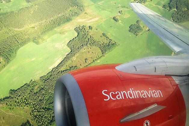 Nuestro vuelo a Noruega. Foto © Patrick Mreyen
