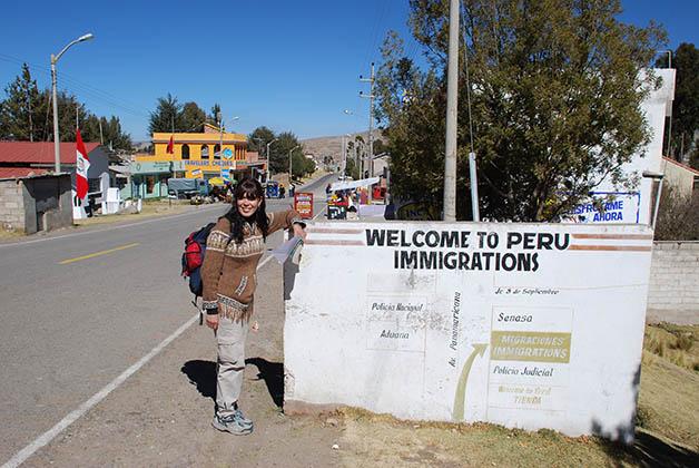 Y ahí dejamos Bolivia para continuar nuestra aventura en Perú. Foto © Patrick Mreyen