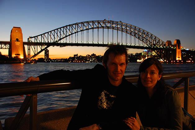 El Harbour Bridge de noche. Foto © Patrick Mreyen