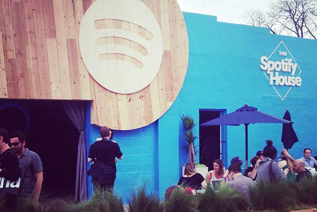 The Spotify House. Foto © Silvia Lucero