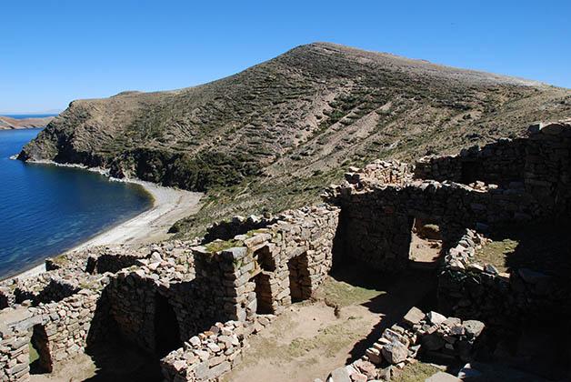 Zona arqueológica. Foto © Silvia Lucero