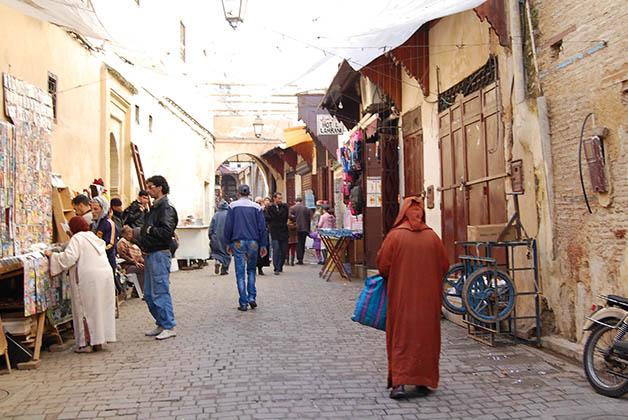 El zoco de Fez. Foto © Silvia Lucero