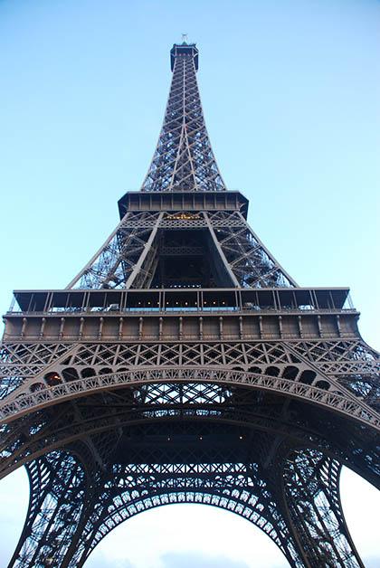 Torre Eiffel. Foto © Silvia Lucero