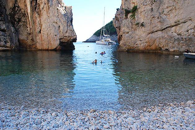 Playa maravillosa de Croacia. Foto © Patrick Mreyen