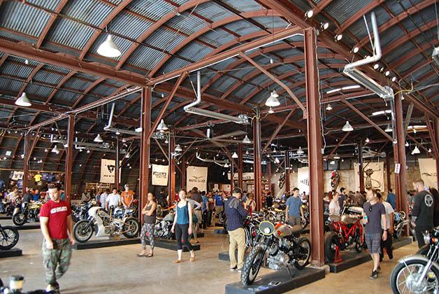 Más de 100 motos en exhibición. Foto © Silvia Lucero
