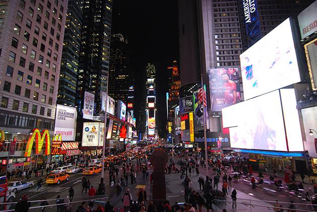 Times Square. Foto © Silvia Lucero