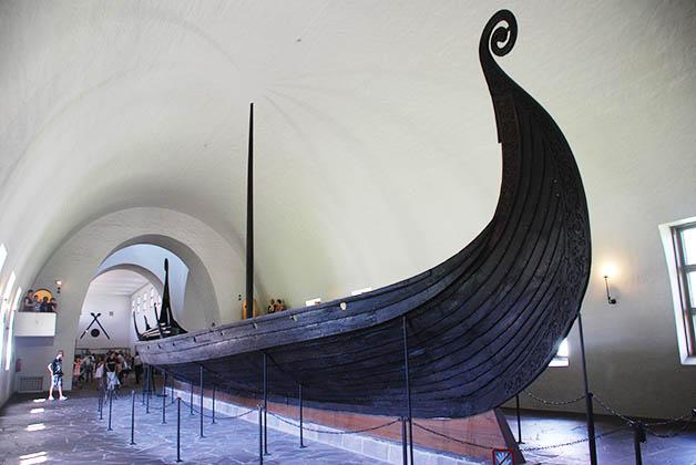 Museo de los Barcos Vikingos ¡imperdible! Foto © Silvia Lucero