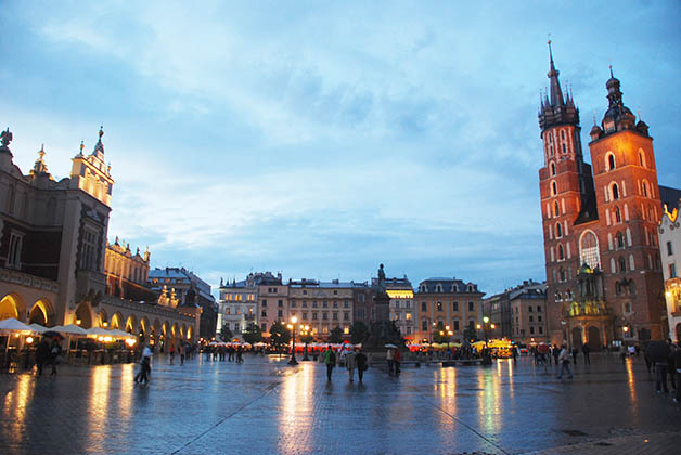 Plaza del Mercado en Cracovia. Foto © Patrick Mreyen