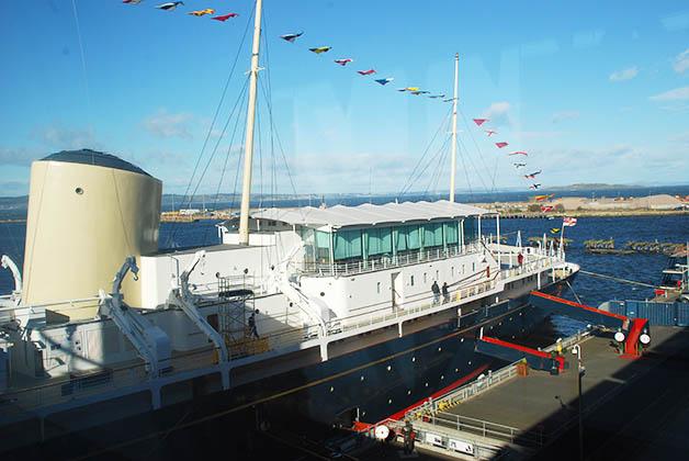 Royal Yacht Britannia. Foto © Patrick Mreyen