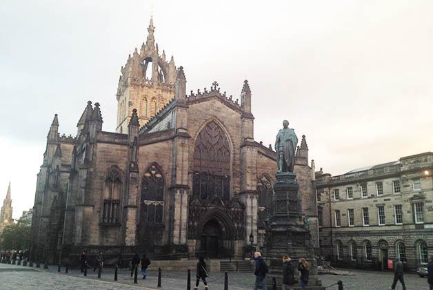 Catedral St. Giles. Foto © Silvia Lucero