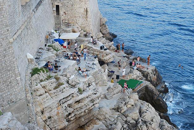 Bar en Dubrovnik. Foto © Silvia Lucero