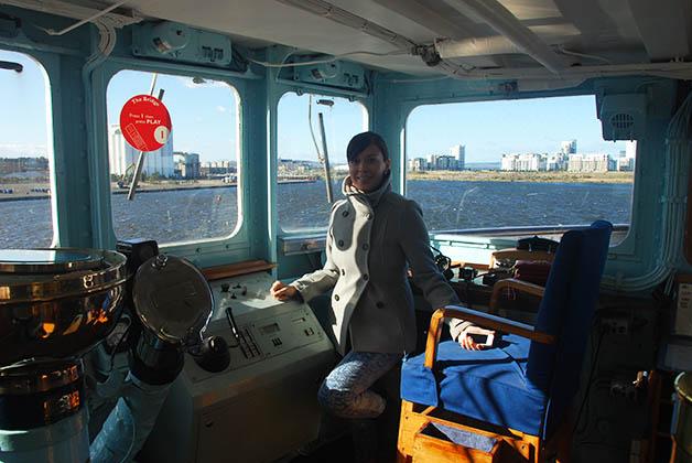 A bordo del Royal Yacht Britannia. Foto © Patrick Mreyen