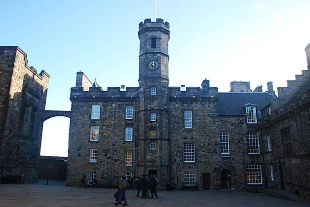 Castillo de Edimburgo. Foto © Silvia Lucero