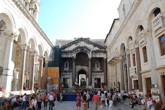 La hermosa ciudad de Split. Foto © Patrick Mreyen