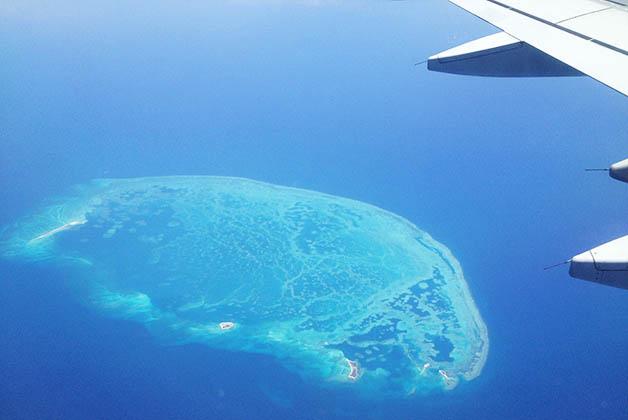 Volando rumbo a la Riviera Maya. Foto © Patrick Mreyen