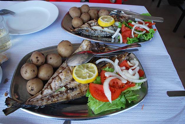 En Lagos se come delicioso. Foto © Silvia Lucero