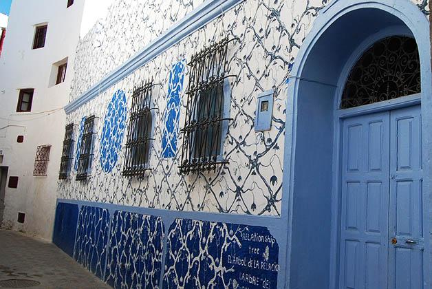 Las casas y los pasillos que te llevaban a ellas eran hermosos, podías pasar horas tomando fotos. Foto © Silvia Lucero