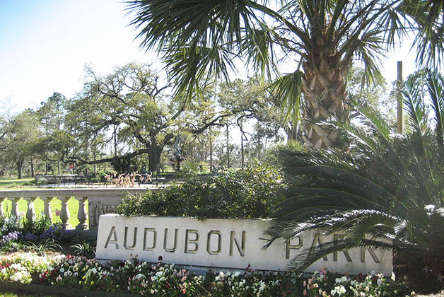 Parque Audubon en New Orleans. Foto de Infrogmation