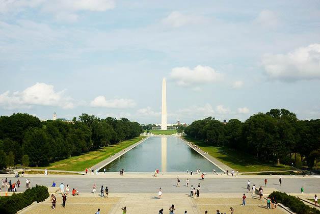 National Mall en Washington DC. Foto de Christoph Radtke