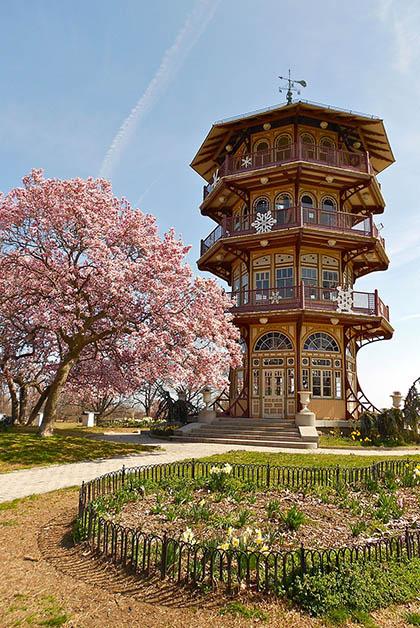 Parque Patterson en Baltimore. Foto de Smallbones