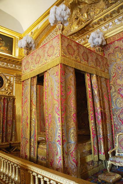 Recámara del rey Luis XVI. Foto © Patrick Mreyen
