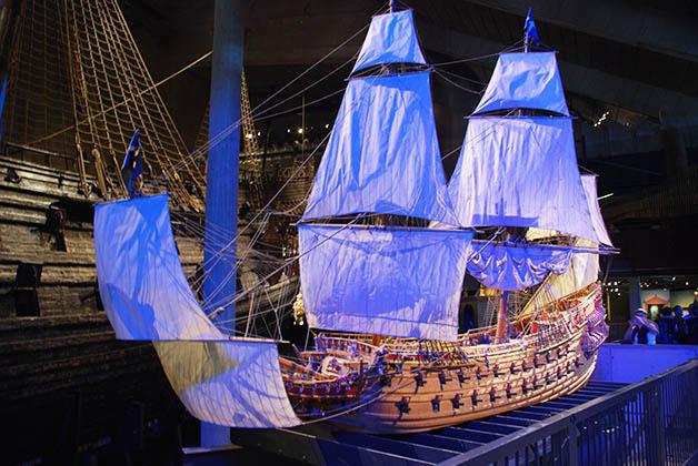 Así sería el buque en su estado original. Foto © Patrick Mreyen