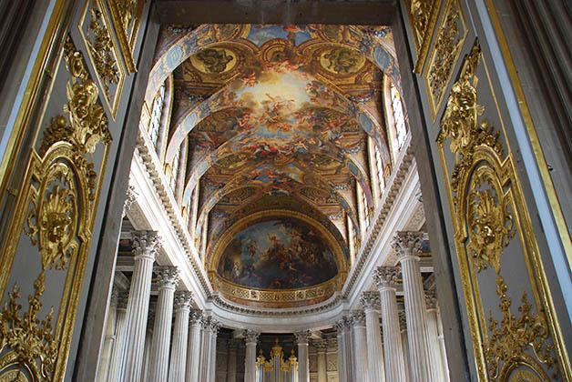 Los frescos son espectaculares. Foto © Patrick Mreyen