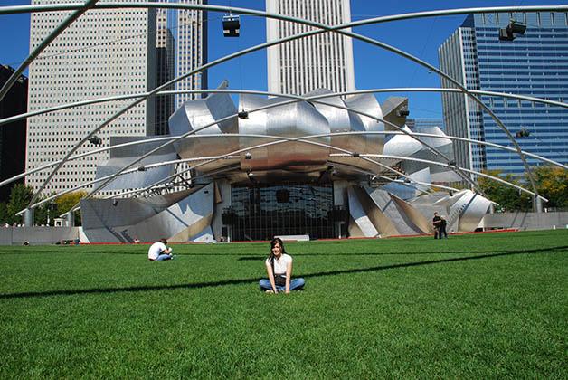 Millenial Park en Chicago. Foto © Patrick Mreyen