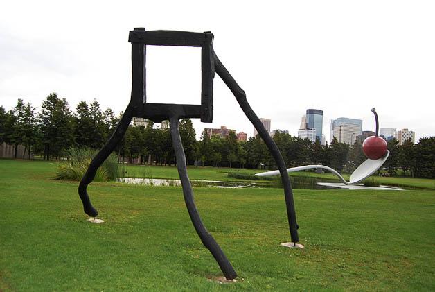 Minneapolis Sculpture Garden. Foto © Silvia Lucero