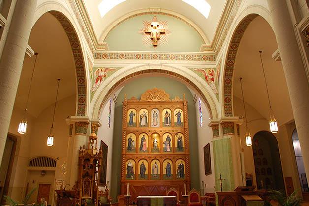 Altar de la Catedral de San Francisco de Asís en Santa Fe. Foto © Patrick Mreyen