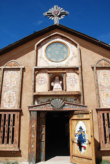 Los detalles de esta capilla eran bellísimos. Foto © Patrick Mreyen