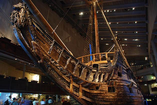Barco Vasa. Foto © Patrick Mreyen