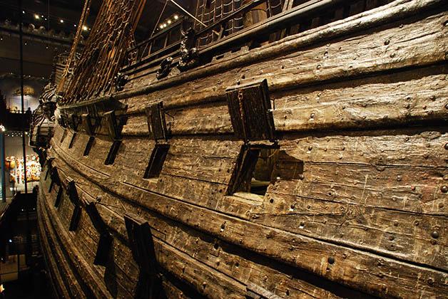 Era un buque de guerra con 64 cañones. Foto © Patrick Mreyen