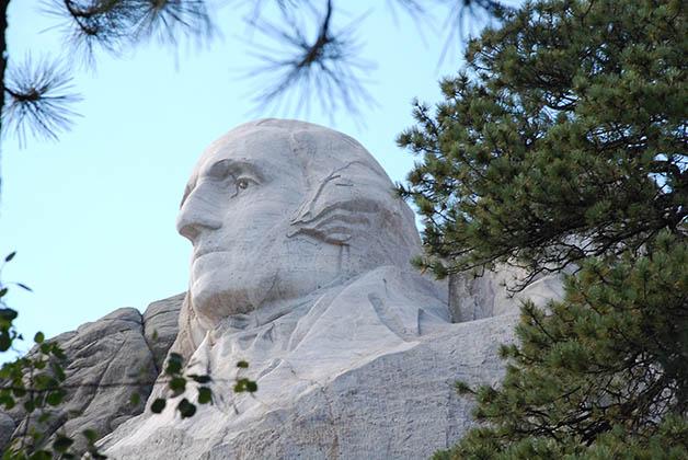 Escultura del presidente George Washington. Foto © Patrick Mreyen