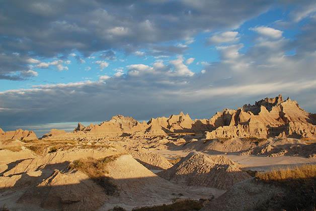 Parque Nacional Badlands. Foto © Patrick Mreyen