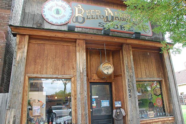La tienda The Beer Dabbler. Foto © Patrick Mreyen