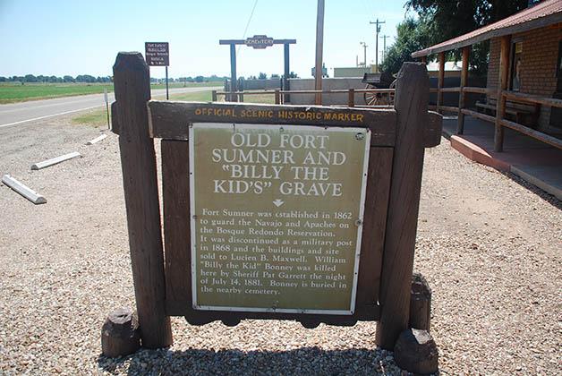Ahí fue asesinado el bandido Billy the Kid. Foto © Patrick Mreyen