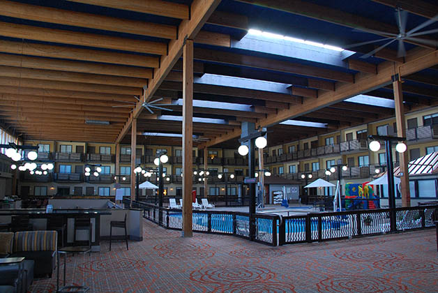 Hotel Ramada Plaza en Gillette, Wyoming. Foto © Patrick Mreyen