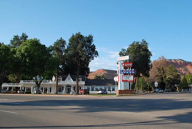 Motel Parry Lodge en Kanab. Foto © Patrick Mreyen