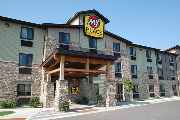 My Place Hotel en Bozeman, Montana. Foto © Patrick Mreyen
