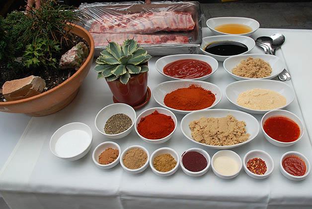 Ingredientes para el BBQ estilo Kansas City. Foto © Patrick Mreyen