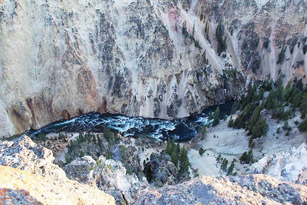 Gran Cañón de Yellowstone, verdaderamente impresionante. Foto © Patrick Mreyen